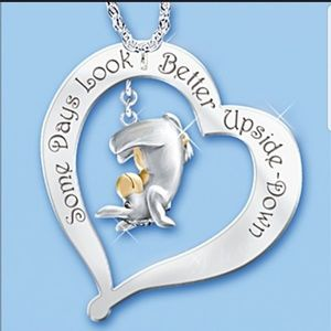 Jewelry - 3 for $20 Silver & Gold Heart Necklace